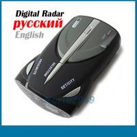 CAR Radar detector Cobra XRS 9740 car Radar detector 15 Band supporting English/Russian language& free shipping