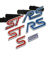 [RECOMMENDED] 3D Metal Sticker Fox Car Decoration Accessories Ford Focus Racing Sport Tech RS ST S Sticker
