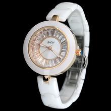 Davena women watches ceramic watches women wrist watch rhinestone watch cute little hand dish watch DHL or EMS free shipping