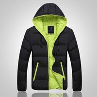 Men's down jacket thick winter coat jacket Brands Outerwear Outdoor Sportswear Softshell  Free shipping Hoodie Waterproof