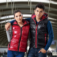 Free Shipping  Man's Down Vest Winter Warm For Man and Woman Waistcoat Lover Down Vest Coat Jacket  90%White Duck Down
