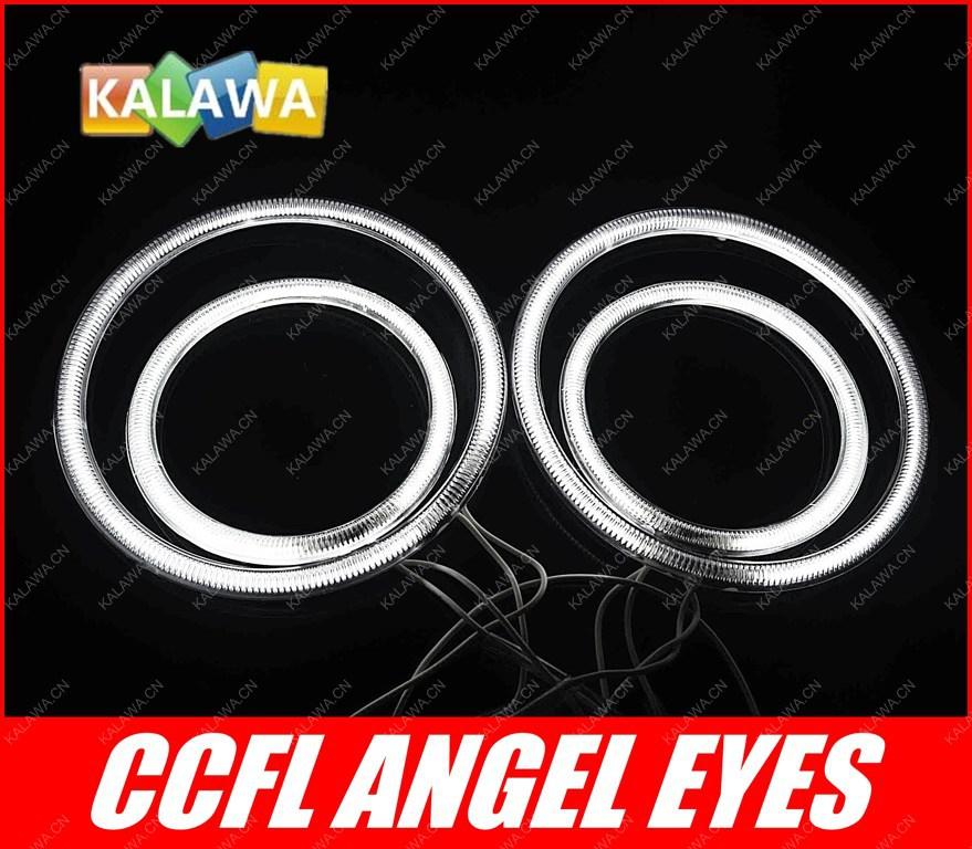 a set 100mm-80mm CCFL 8000k Angel Eyes Halo Ring Halo Light cathode tube headlight fits for VW Passat FREESHIPPING GGG(China (Mainland))