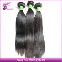 "6a Top Virgin Brazilian Straight Hair 100% Unprocessed 5pcs/lot Mixed Length 8""-30""  Human Hair Extension Free Shipping"