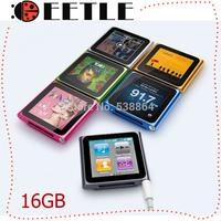16 gb 6th mp4 player 6th touch screen mp3 mp4 music player clip FM radio m4p player