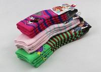 6Pair/Lot Winter child slip-resistant floor socks baby thickening towel toddler socks kid's socks cartoon