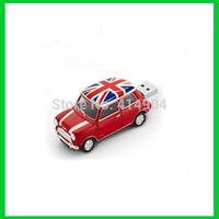 1pcs/lot Wholesale promotional gift items pendrive Mini Cooper Car Shape USB Flash Drive car key pendrive