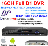 home surveillance 16ch full 960H D1 security wifi DVR with HDMI 1080P 16 channel DVR NVR CCTV video DVR Recorder+Free shipping