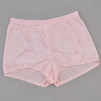 Underwear mulberry silk knitted panties close fitting female xxl plus size large boxer shorts