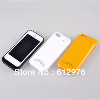 Newest 2200mah Backup Power External Battery Charger case for iphone 5 5S 5C Compatible ios 8, Free shipping (1pcs)