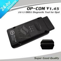 OPCOM OBDII, OBD 2, OBD II diagnostic interface PC scanner auto scan 2013 V1.45 op-com can bus interface for OPEL OP COM