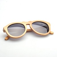 ZA08 Bamboo wooden sun glasses Branded style polarized glasses wood sunglasses