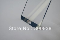 Free Shipping Blue Color Front Outer Lens Glass Cover For Samsung Note 3 N9000 With Free Tools Kit And Adhesive