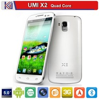 New Arrival UMI X2 5.0 inch FHD Screen 1920*1080P Smart Phone Android 4.2 MTK6589T Quad Core 13.0MP Camera 2GB RAM 32GB ROM