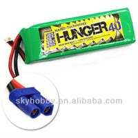 rc helicopter  boat airplane lipo battery 4000MAH 4S 40C MAX 80C 14.8V  NANO TECH LIPO PACK BATTERY HUNGER--RC03168