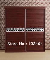 Melamine Wardrobe With Sliding Door (AGW-027)
