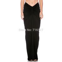 FREE SHIPPING new fashion 2015 women Spring summer Waist shirring design elegant mermaid style package hip short skirts XS-XXL