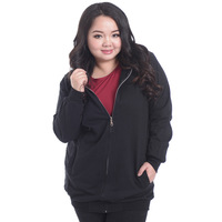 2013 New Fashion Fat Women Big Size Zipper Cardigan Sweater Outwear Coats Women Winter Big Size Clothing