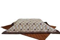 (2pcs/set) FU07 Japanese Kotatsu Futon japanese rectangle 195*235 cm futon blanket