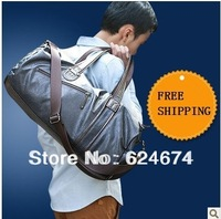 Free shipping 2014 New Arrival hot sale fashion largest capacity sport gym bag luggage bag women and men travel bag
