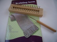 Free Shipping New Easy Knitting tool Kintting loom Guage Knitting wooden Board knit machine