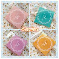 Packaging plastic bags, 300pcs/lot,cookie bags 4colors,cupcake wrapper  self-adhesive bags  10x10+3cm