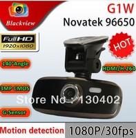 "Super Night Vision Car DVR Recorder G1W GS108 with Novatek 96650 + WDR + H.264 + 1080P 30FPS + G-Sensor + 2.7"" LCD FreeShipping!"