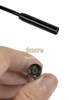 New 2M Waterproof USB Borescope Endoscope Inspection Long Snake Tube Camera Dropshipping TK1010