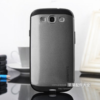 Free shipping SGP Slim armor Hard back hybrid TPU Rubber phone case for Samsung Galaxy S3 i9300