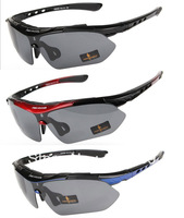 FREE SOLDIER 5 LENS CYCLING GLASSES OUTDOOR SPORTS POLARIZED SUNGLASSES GOGGLES-33652
