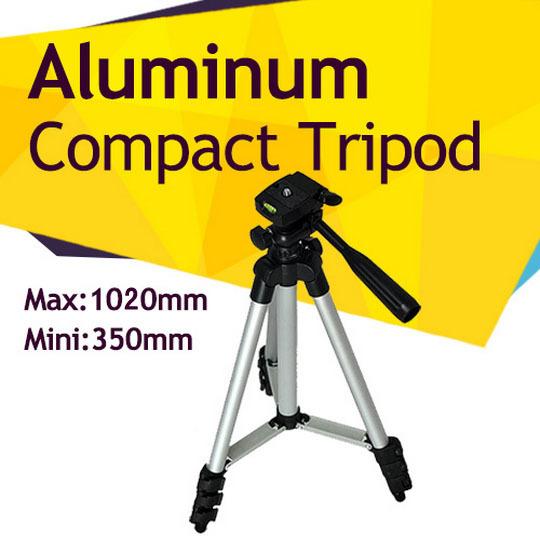 compatto in alluminio leggero flessibile fotocamera digitale videocamera treppiede per canon nikon sony fuji olympis panasonic