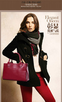 The new spring and summer 2014 version of the single shoulder bag aslant leather handbag \ Collect stores have surprise