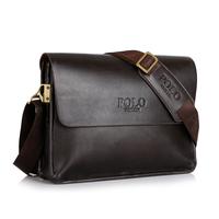 2015 fashion men messenger bags brand leather laptop bag men cross body shoulder bag pu leather man bolsas
