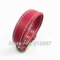 Mens Genuine Leather Wrist Watch Bracelets Belt Design Leather Bracelet Bangles s004
