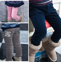 Free Shipping 2013 new autumn-winter Comfortable sports casual Baby boys&girls children Corduroy pants wholesale