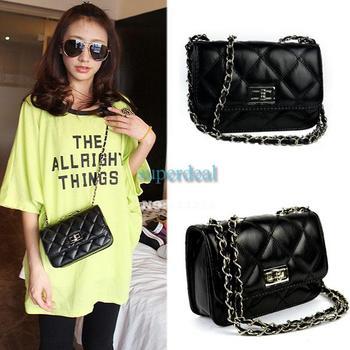 4PCS/LOT Women's PU Leather Cute Mini Handbag Tote cross body bag shoulder bag Women  8272 Z