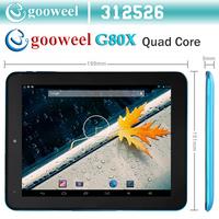 Gooweel G80X  ATM7029 Quad core Tablet pc 8inch  Android 4.2.2 HDMI WIFI camera  OTG 1GB RAM 16GB ROM