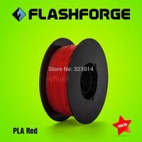 Flashforge 3D printer PLA filaments,diameter 1.75-1.8mm,for Creator series.