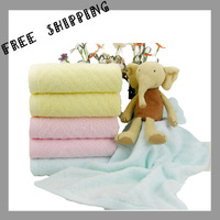 [TOWEL] 34*74 cm 80g Bamboo Fiber Household Products Benefit Face Super Absorbent Beauty Salon 3 Color  Towels For The Bathroom