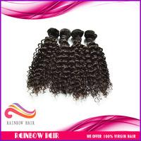 Unprocessed 4pcs/lot Virgin Malaysian Curly hair mix length availabe 100% virgin Malaysian hair extension