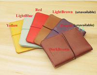 Style Pu Leather Travel Sleeve Passport ID Holder Protect Cased Cover  BB496