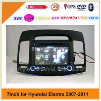 Free Shipping ! Hyundai Elantra Car DVD with GPS Radio Bluetooth IPOD SD USB Stereo system