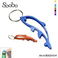 Customized whole aluminum dolphin shaped bottle opener key chains,free shipping,multi-colors, free laser engraved,500pcs/lot