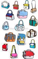 2014 new designed women and men 2d 3d cartoon handbag gismo shoulder bag carry in space messenger bag free shipping