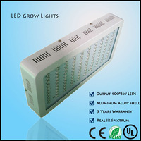 New 300w led grow light with 100pcs 3w chip integrated spectrum for grow green house high power top selling