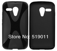 For Moto G DVX XT1028 X-TPU Case,New X Line soft TPU Gel Skin Case For Motorola Moto G XT1032 Free Shipping
