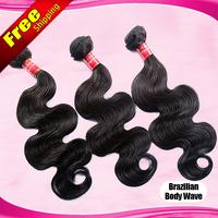 Brazilian virgin hair body wave Queen hair products 3pcs lot Best 6A Brazilian body wave 100% unprocessed hair weaves