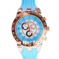 Promotional Price Brand Silicone Unisex Sport Mulco Watch,Vogue Wrap Quartz Good Style Watch,Charming Men Wrist Watch 50pcs/lot
