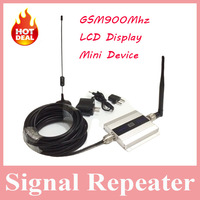 Hot Sell 1 Set Mini Device LCD Display GSM Repeater, Cellphone GSM 900mhz Signal Repeater Booster, GSM 900mhz Repeater Amplifier