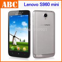 Lenovo S960 mini Vibe Original S650 MTK6582 Quad Core Mobile Phones 4.7'' Gorilla Glass 1GB RAM 8GB ROM 8MP Android4.2 Russian