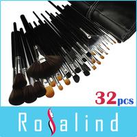 Rosalind  New 2015 Professional 32 Pcs Makeup Brushes Professional Cosmetic Makeup Set Free Shipping